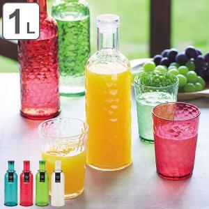 冷水筒 ピッチャー 1L ボトルモード アクリル製 ( 麦茶ポット 冷水ポット 水差し シンプル )|livingut