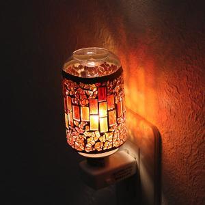 照明 アロマランプ モザイク アロマライト コンセント型 ( ライト 足元 間接 コンセントライト 足元 フットランプ )|livingut|07