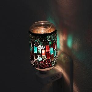 照明 アロマランプ モザイク アロマライト コンセント型 ( ライト 足元 間接 コンセントライト 足元 フットランプ )|livingut|08