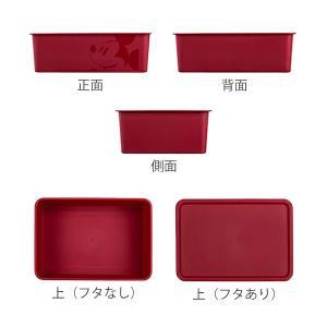 収納ボックス ふた付き レギュラーサイズ ミッキーマウス スクエアBOX ( 収納ケース 収納 小物入れ カラーボックス ) livingut 03
