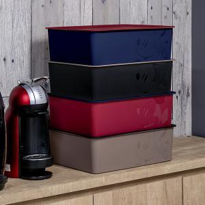 収納ボックス ふた付き レギュラーサイズ ミッキーマウス スクエアBOX ( 収納ケース 収納 小物入れ カラーボックス ) livingut 07