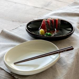 プレート 19cm B.N.シリーズ オーバル型 皿 器 陶器 食器 日本製 ( 食洗機対応 洋食器 電子レンジ対応 取り皿 食洗機 対応 )|livingut