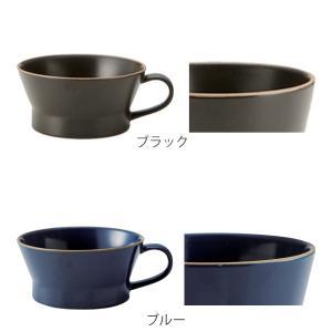 スープカップ エッジライン 持ち手付き 陶器 食器 ( 食洗機対応 電子レンジ対応 スープボウル 小鉢 )|livingut|05