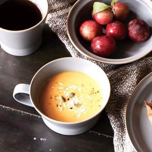 スープカップ エッジライン 持ち手付き 陶器 食器 ( 食洗機対応 電子レンジ対応 スープボウル 小鉢 )|livingut|09