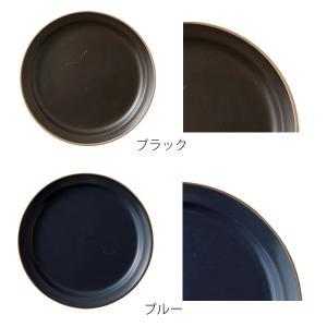 プレート 20cm M エッジライン 陶器 食器 同色5枚セット ( 食洗機対応 電子レンジ対応 ケーキ デザート 皿 ) livingut 05