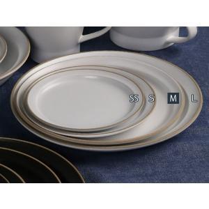 プレート 20cm M エッジライン 陶器 食器 同色5枚セット ( 食洗機対応 電子レンジ対応 ケーキ デザート 皿 ) livingut 06
