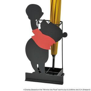 傘たて シルエット 傘立て くまのプーさん ディズニー ( 玄関 エントランス 傘立 かさ立て カサ立て かさ置き )の写真
