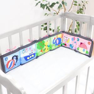 ミニガード クッション ミニ ベッドガード 赤ちゃん おもちゃ 音の出るおもちゃ 安全グッズ ( ガード ベビーベッド 柵 取り付け 歯固め ) livingut