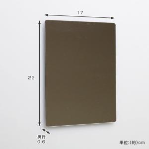 ラックスマグネット くもり止め樹脂ミラーM ( バス ミラー 鏡 )|livingut|03
