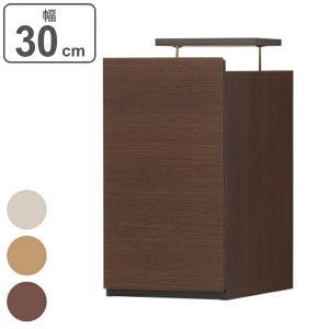 大容量収納でリビングをすっきりまとめる壁面収納シリーズの上置き台幅30cmです。シリーズを組み合わせ...
