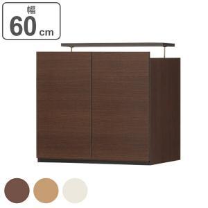 大容量収納でリビングをすっきりまとめる壁面収納シリーズの上置き台幅60cmです。シリーズを組み合わせ...