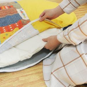 いねむりふとん 専用カバー 150×110cm ラージサイズ 洗い替え ファスナータイプ 日本製 ( いねむりふとん専用 対応 専用 カバー 洗い替え 外せる )|livingut|04