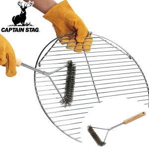 ストレートタイプのアミに適したアミブラシです。調理中のアミのコゲや汚れを落とすのに便利です。幅広のワ...