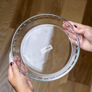 グラタン皿 大皿 26cm パイレックス Pyrex 丸 耐熱ガラス オーブンウェア ディッシュ 皿 食器 ( 耐熱 ガラス 大 丸型 ラザニア グラタン 製菓 )|livingut|04