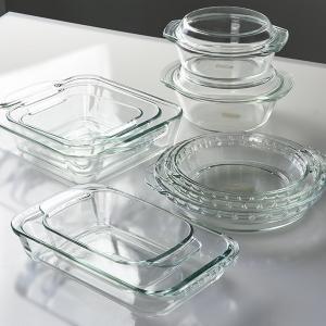 グラタン皿 大皿 26cm パイレックス Pyrex 丸 耐熱ガラス オーブンウェア ディッシュ 皿 食器 ( 耐熱 ガラス 大 丸型 ラザニア グラタン 製菓 )|livingut|05