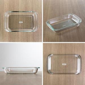 グラタン皿 大皿 26cm パイレックス Pyrex レクタングル 耐熱ガラス オーブンウェア ディッシュ 皿 食器 ( 耐熱 ガラス 大 角型 ラザニア グラタン 製菓 )|livingut|03