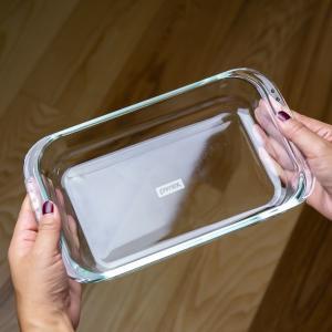 グラタン皿 大皿 26cm パイレックス Pyrex レクタングル 耐熱ガラス オーブンウェア ディッシュ 皿 食器 ( 耐熱 ガラス 大 角型 ラザニア グラタン 製菓 )|livingut|04