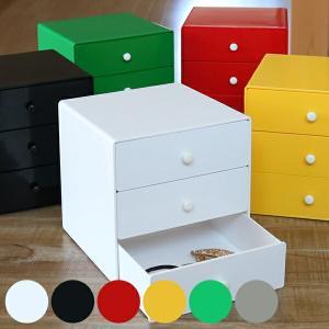 小物収納 約17×17×17cm ホームボックス 引き出し タイガークラウン ( 小物 収納 ケース 文房具 ボックス 小物入れ 卓上収納 )|livingut