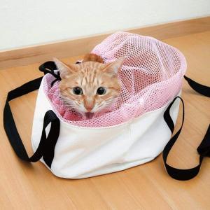 キャリーバッグ キャットバッグ 猫 ネコ バッグ ( ペット ペットキャリー 巾着 )
