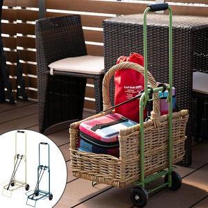 折り畳みカラーカート キャリーカート ゴムバンド付き ( 折りたたみ キャリー アウトドア )|livingut