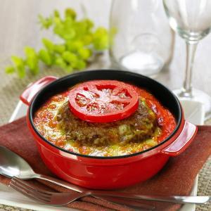 グラタン皿 丸型 18cm フッ素加工 皿 プレート 耐熱皿 陶磁器 食器 ( オーブン 電子レンジ 対応 洋食器 耐熱 丸皿 )|livingut|04