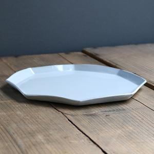 プレート 22cm 洋食器 アミューズ 陶器 食器 笠間焼 日本製 ( 食洗機対応 電子レンジ対応 皿 お皿 八角形 )|livingut|13