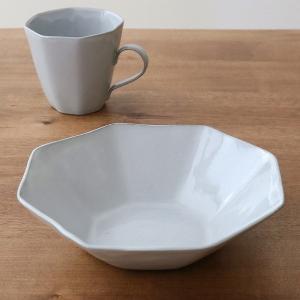 ボウル 19cm 洋食器 アミューズ 陶器 食器 笠間焼 日本製 ( 食洗機対応 電子レンジ対応 皿 お皿 八角形 )|livingut|11