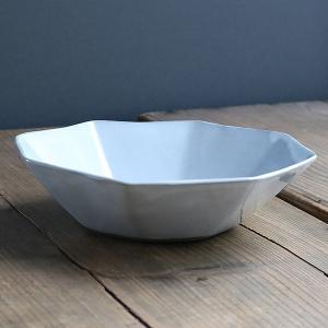ボウル 19cm 洋食器 アミューズ 陶器 食器 笠間焼 日本製 ( 食洗機対応 電子レンジ対応 皿 お皿 八角形 )|livingut|15