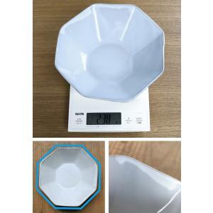 ボウル 19cm 洋食器 アミューズ 陶器 食器 笠間焼 日本製 ( 食洗機対応 電子レンジ対応 皿 お皿 八角形 )|livingut|08