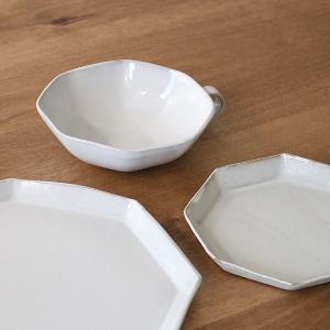 スープカップ 330ml アミューズ 陶器 食器 笠間焼 日本製 ( 食洗機対応 カップ 電子レンジ対応 マグ スープマグ 八角形 )|livingut|12