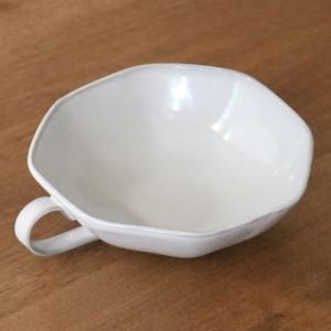 スープカップ 330ml アミューズ 陶器 食器 笠間焼 日本製 ( 食洗機対応 カップ 電子レンジ対応 マグ スープマグ 八角形 )|livingut|13