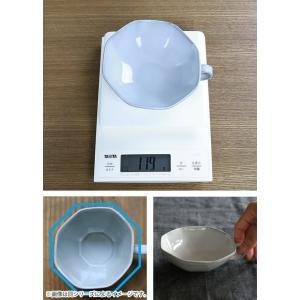 スープカップ 330ml アミューズ 陶器 食器 笠間焼 日本製 ( 食洗機対応 カップ 電子レンジ対応 マグ スープマグ 八角形 )|livingut|07