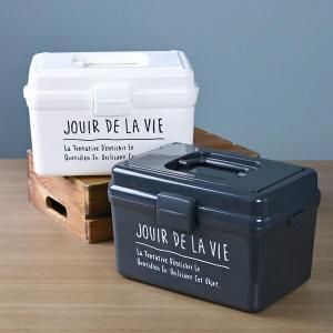 収納ボックス Days stock キャリー ( 救急箱 工具入れ 収納ケース 収納BOX )|livingut