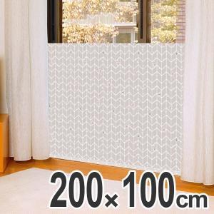 寒さ対策 窓 あったかキープパネル 幅200×高さ100cm ツリー ( 窓際 冷気 対策 パネル ...