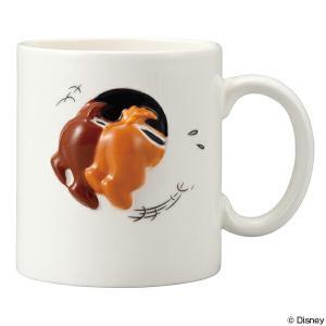 マグカップ チップ&デール ハプニング マグ 320ml 陶器 食器 キャラクター ( 食洗機対応 ...
