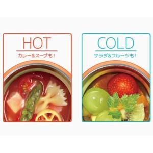 保温弁当箱 スープジャー サーモス thermos 真空断熱フードコンテナー 300ml JBQ-301 ( お弁当箱 保温 保冷 )|livingut|05