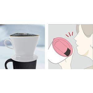 マグカップ ミニーマウス カフェマグ 真空断熱構造 ステンレス製 330ml フタ付き キャラクター ( 保温 保冷 ステンレスマグカップ カップ コップ 食器 )|livingut|04