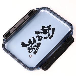 お弁当箱 1段 ガッツリ パッキン付 1000ml ( 弁当箱 大容量 仕切り付 1L 日本製 ) livingut 04
