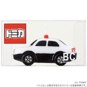 キャンドル ろうそく 誕生日 バースデーキャンドル トミカキャンドル パトロールカー ( ローソク ロウソク ケーキ用 )|livingut