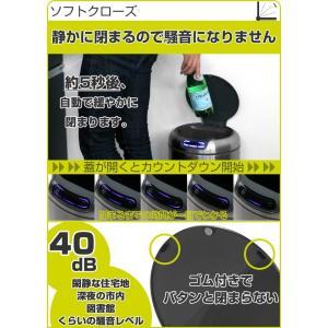 ゴミ箱 センサー EKO ガレリア センサービン 9L ( 自動開閉 オートクローズ ふた付き ) livingut 06