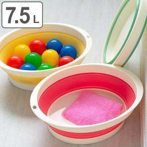 使わないときは一瞬できれいにたためてコンパクトに収納できる洗い桶です。…【商品詳細】 サイズ/約外寸...