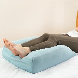 足クッション フットピロー 洗えるカバー付 日本製 50×60cm ( 足枕 足まくら 足置き )