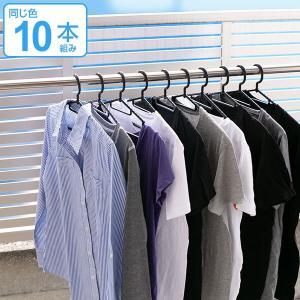 ハンガー 洗濯ハンガー 10本組 当店オリジナル商品 ( 洗濯 衣類ハンガー プラスチック )|livingut
