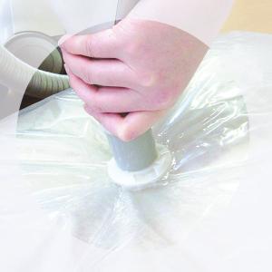 圧縮袋 ふとん 1組用 掛け・敷きひとまとめ マチ付き 1枚入 ( ふとん圧縮袋 圧縮袋 布団収納 布団収納袋 )|livingut|05
