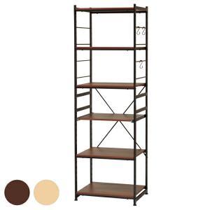 キッチンラック スチールフレーム 収納棚 SARA 幅58cm ( レンジ台 レンジボード キッチン収納 )|livingut