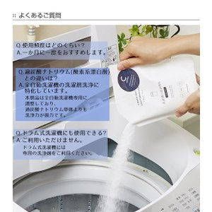 洗濯槽の洗浄剤B 全自動洗濯機用 300g クラフトマンシップ 木村石鹸 ( 洗剤 洗濯機 全自動 )|livingut|08