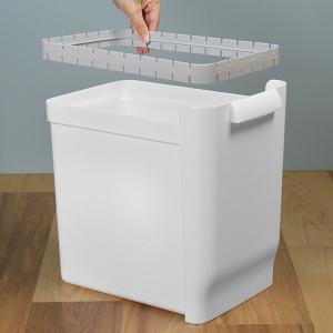 ゴミ箱 ふた付き 分別 ツインペダルペール ネオカラー 2段 46L 幅28.5cm ( ごみ箱 分別ごみ箱 6分別 約 幅30 cm )|livingut|17