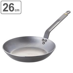 deBuyer デバイヤー フライパン ミネラルビー エレメント 26cm IH対応 ( 鉄製 鉄フライパン 調理器具 ガス火対応 )|livingut