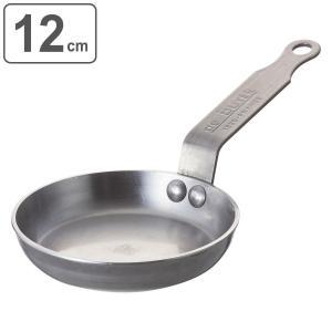 deBuyer デバイヤー フライパン ミネラルビー エレメント ミニ 12cm ガス火専用 ( 鉄製 鉄フライパン 調理器具 )|livingut