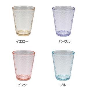 タンブラー 310ml コップ プラスチック ハマー UCA 同色4個セット ( アクリルコップ プラコップ グラス 割れにくい グラス ) livingut 03